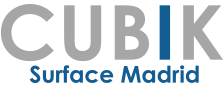 Cubik Surface Madrid Logo