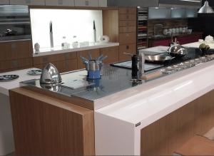 Encimeras y superficies sólidas para cocinas de Cubik