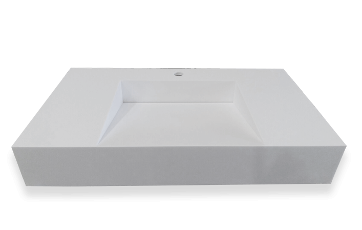 Superficies sólidas a medida para baños, cocinas y revestimientos