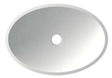 Lavabo CK ovalo de Cubik
