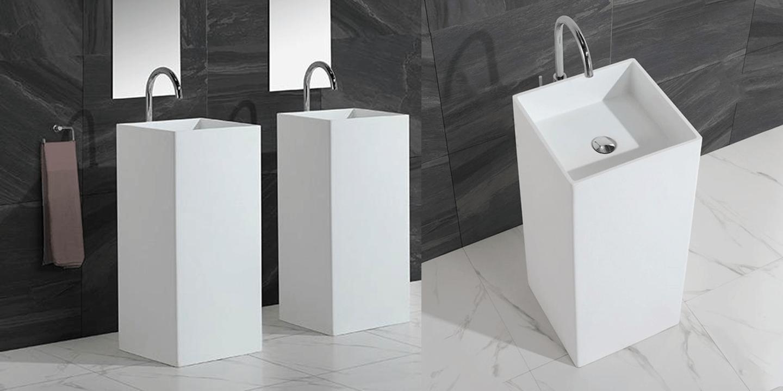 Superficies sólidas para baños de Cubik Surface Madrid
