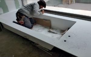 Proceso de fabricación de Cubik Surface Madrid
