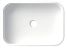 Lavabo cuadrado de Cubik
