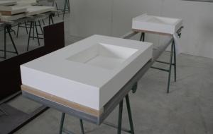 Fabricación de lavabos a medida