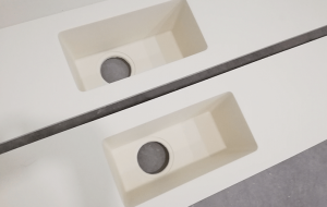 Proceso de fabricación de superficies sólidas de Cubik